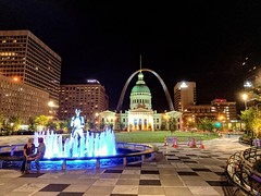 Kiener Plaza Park in downtown St. Louis