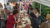 Tortenbuffet am frühen Nachmittag: Die Frauen haben die Torten selbst gebacken.