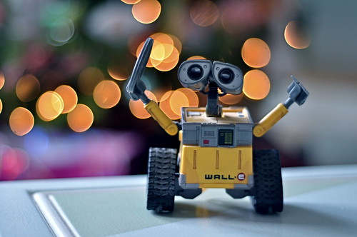 merry christmas from wall-e!