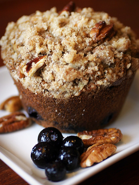 Whole Wheat Blueberry Muffins | Flickr - Photo Sharing!