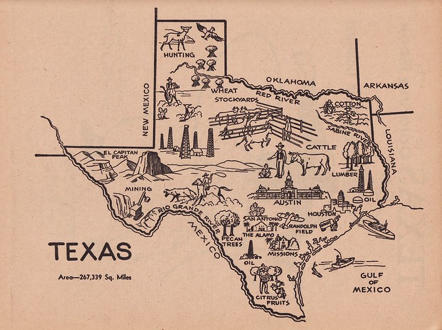 texas map coloring page - free coloring pages