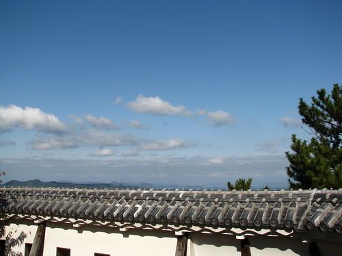 panorama castle japan view 日本 château vue japon matsuyama 松山 松山城 パノラマ