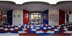 Tricolor - an installation art at French embassy, Tokyo