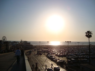 Almost sunset @ Pier