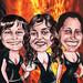 2009. Saray, Elisa y Ana (Encargo particular)