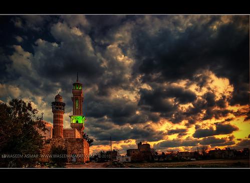 sunset lowlight iso400 dramatic syria hdr lattakia nikond80 nikkor18135mm waseemasmar ibnheeni