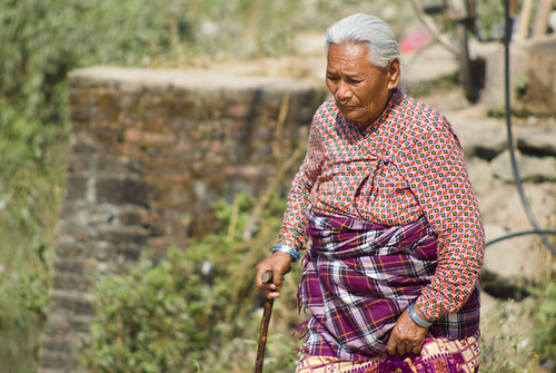 Elderly Nepalese Woman