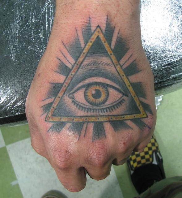 Simple Illuminati Tattoos Eye of Illuminati Tattoo
