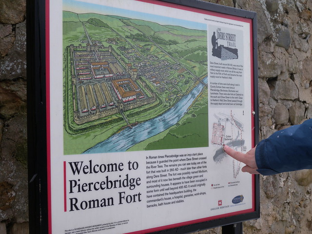 Morbium - Roman Fort at Piercebridge