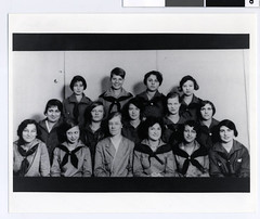 North High School Girl Scout troop, 1928
