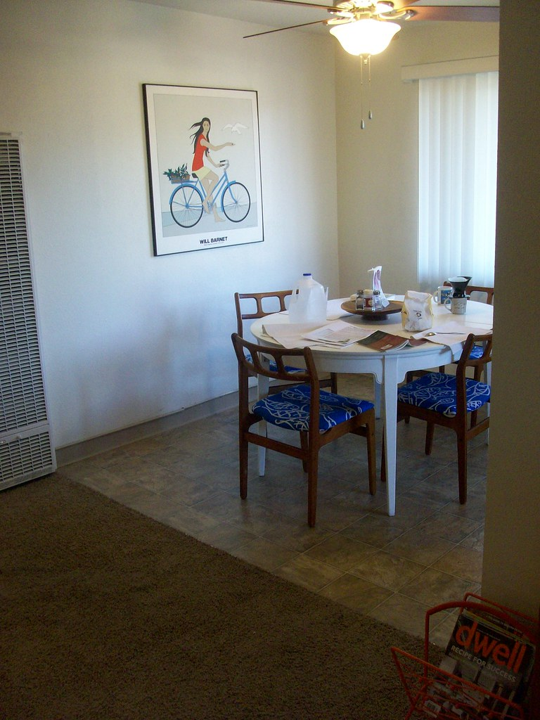 DINING ROOM TABLE WITH LAZY SUSAN DINING ROOM TABLE