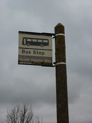 South Downs Way bus stop