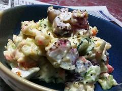 meal, salad, vegetable, food, dish, cuisine, potato salad,