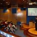 Jue, 25/03/2010 - 18:41 - Fernando Manzano, experto en inteligencia del grupo Interligare, durante la sesión que impartió a los participantes el programa Aulas de I+D, organizado conjuntamente por Tecnópole y la empresa Intellectia Bank. Tecnópole, 25 de marzo de 2010.