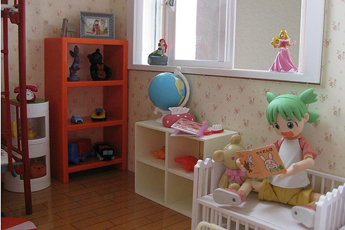 Yotsuba1 re-reads her favorite book