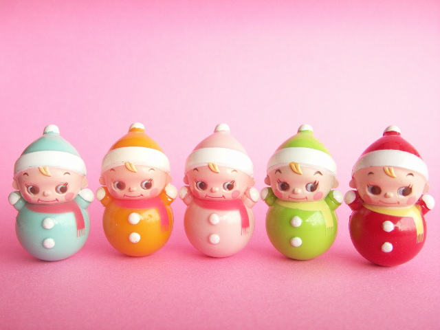 Cute Japanese Toys : Kawaii cute miniature baby roly poly collection japanese