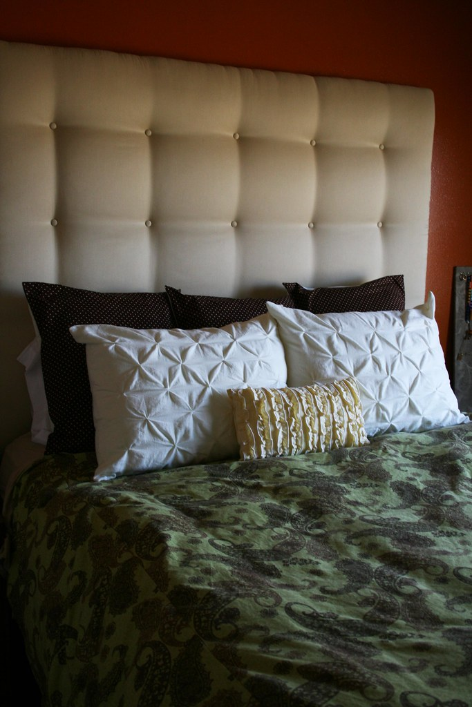 I Create It Padded Headboard The Tutorial