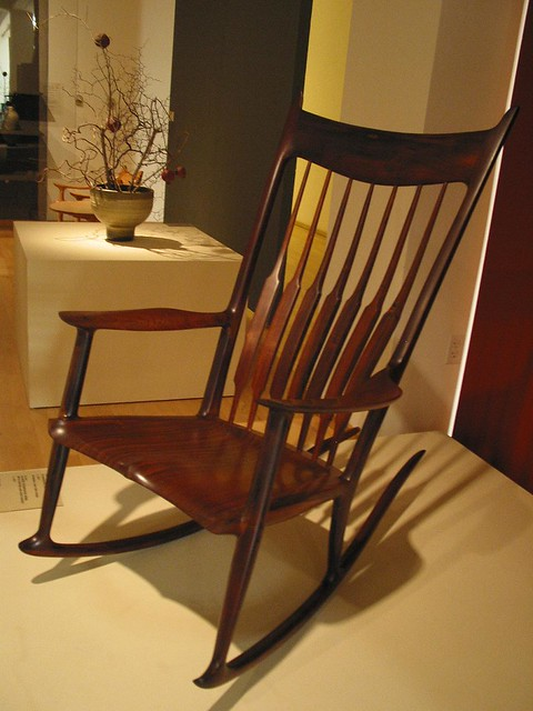 Sam Maloof Rocking Chair  Flickr - Photo Sharing!
