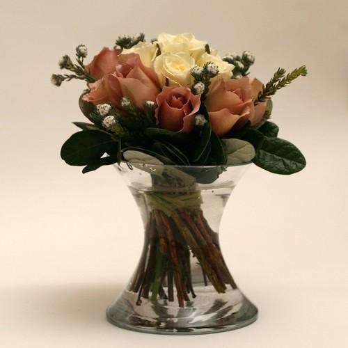 Romantic Rose Bouquet (Side)
