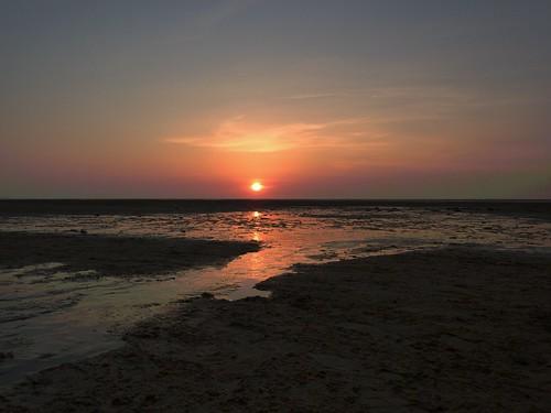 Sunset On Beach 5