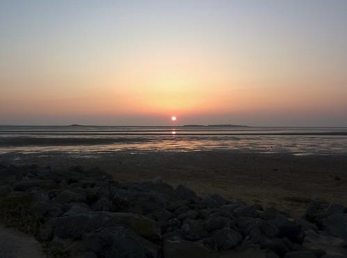 Hilbre Sunset