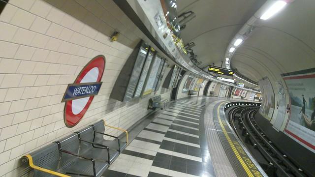 London Waterloo, 12:46pm #emptyunderground