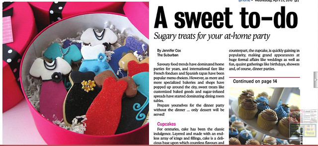 L&V Sweets featured in the Suburban!