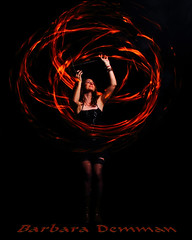 Barbara Demman Fire Spin by chumpdtez