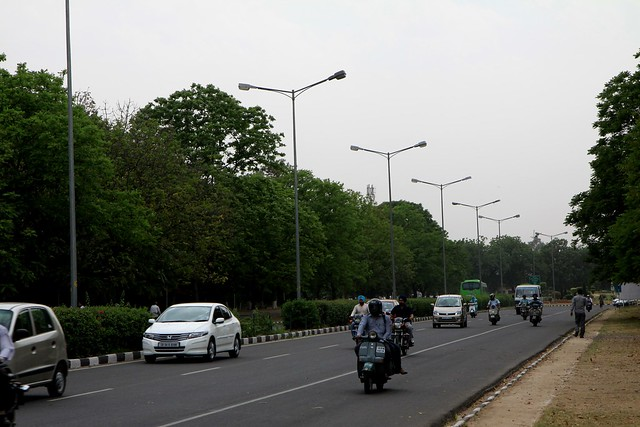 Chandigarh Streets Model Town For City Planning And
