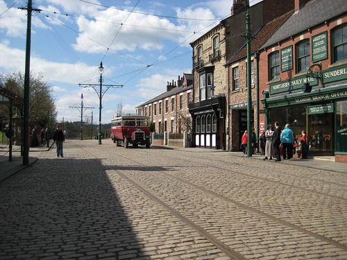 Beamish Town High Street