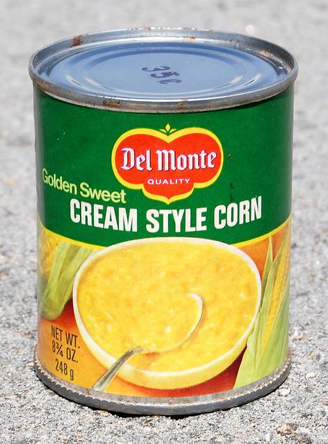 Del Monte Cream Style Corn, 1980's
