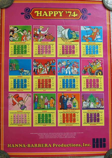 HB Calendar 1974