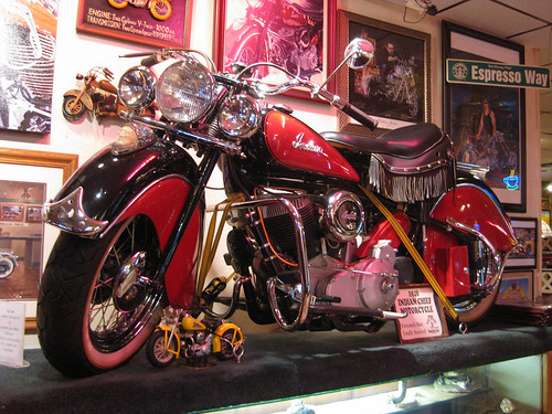 Cherry Indian Motorcycle