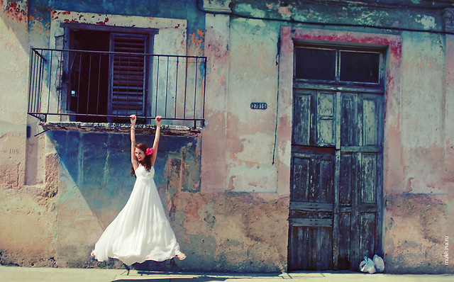 wedding. rambling around lokal towns in Cuba