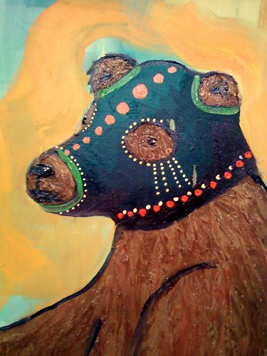the masked bear