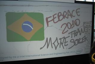 Electronic wall @ ISEF 2010
