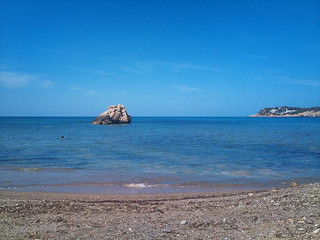Image of Cala Xarraca near Sant Joan de Labritja. sea holiday beach ibiza 2010