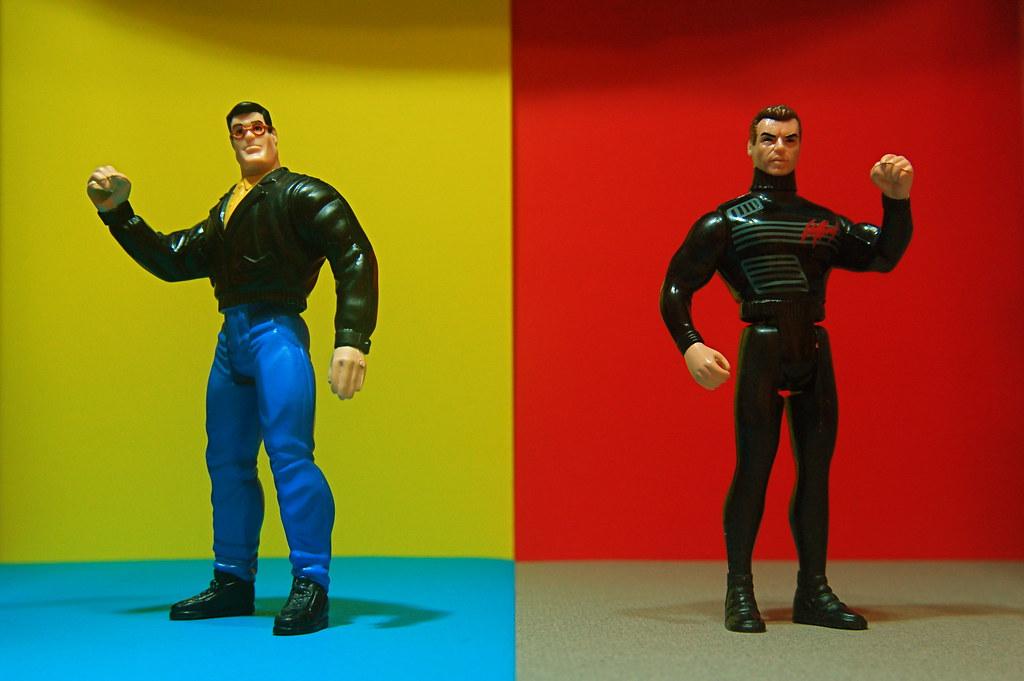 Clark Kent vs. Bruce Wayne (142/365)