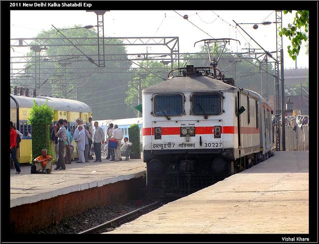 2011 New Delhi Kalka Shatabdi Express