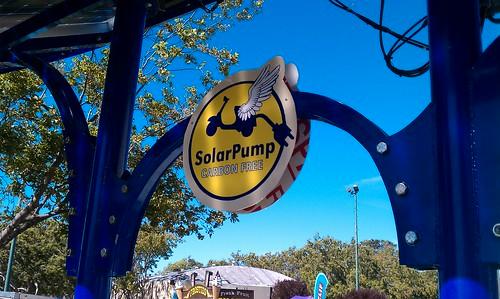 Solar Pump Sign