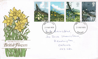 21-Mar-1979 UK First Day Cover