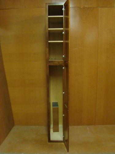 Kraftmaid Cherry Kitchen Bathroom Pantry Cabinet 12 W Ebay