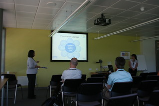 Sue Atkinson and Julie Swain from Plymouth talk ePortfolios