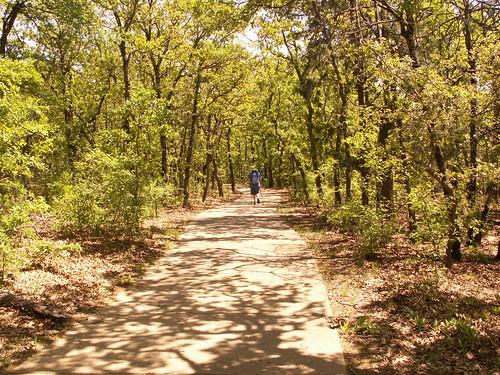 hiking trail doris 2010 texasstateparks rayrobertsstatepark