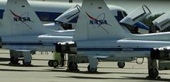 aviation, airplane, vehicle, fighter aircraft, northrop t-38 talon, jet aircraft,