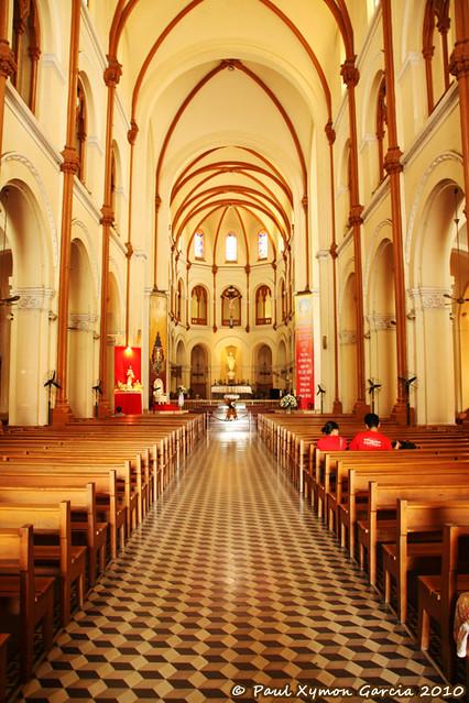 Saigon Notre Dame Basilica (Interiors)