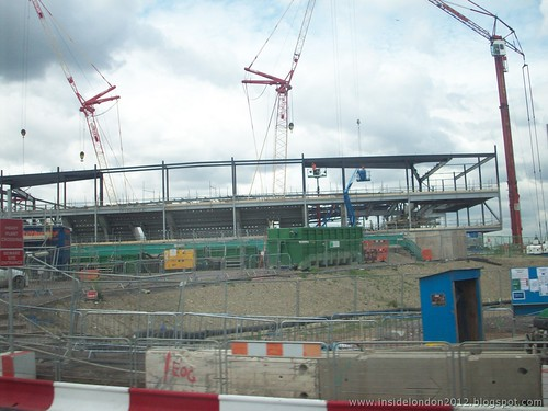 London 2012 Olympic Site - June 2010 - Handball Arena