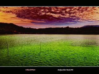 Small green lake Manado ID