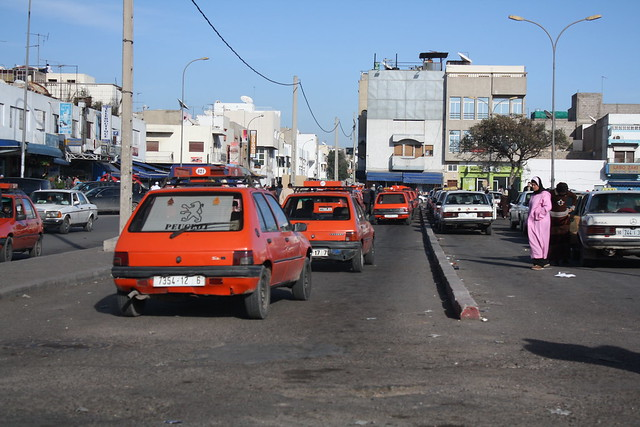 Taxi rank in agadir morocco flickr photo sharing for Agadir moroccan cuisine aventura fl