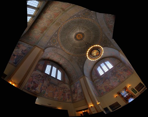 L.A. Central Library Fisheye